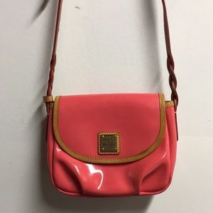 Just In!  Smaller D & B Salmon Pink Crossbody